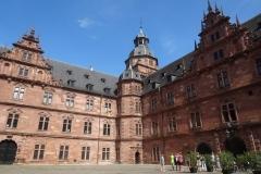 Schloss Johannisburg Aschaffenburg, Innenhof