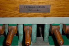 Spieltisch, Detail