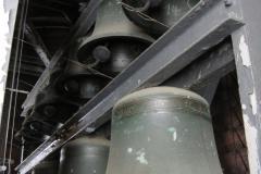 Blick in den Glockenstuhl