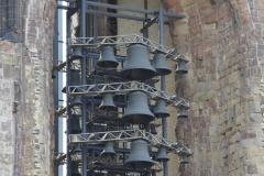 Carillon des Mahnmals St. Nikolai, Detailansicht