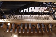 Spieltisch Pedal, mitteleuropäische Norm