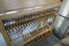 Spieltisch des Weilbacher Carillons