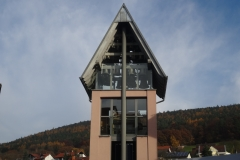 Glockenturm in Weilbach